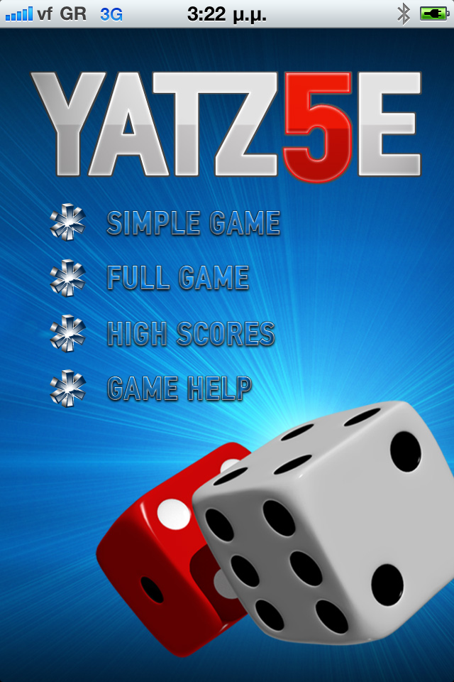 Screenshot YATZ5E